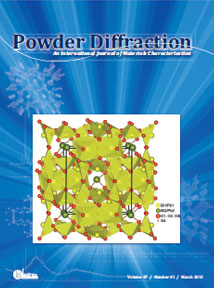 Powder Diffraction Journal March 2012 coverart