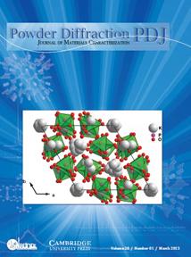 Powder Diffraction Journal March 2013 coverart