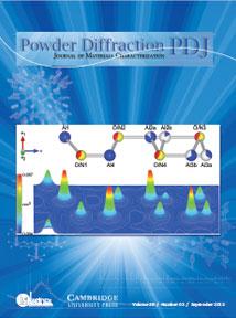 Powder Diffraction Journal September 2013 coverart