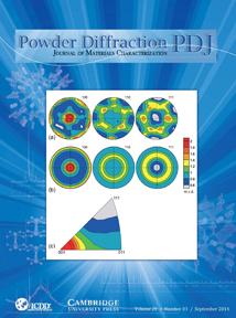 Powder Diffraction Journal September 2014 coverart