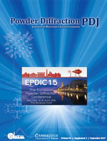 Powder Diffraction Journal September 2017 Supplement Coverart