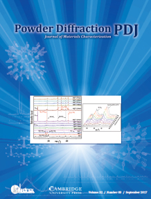 Powder Diffraction Journal September 2017 Coverart
