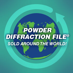 Powder Diffraction File - sold world wide