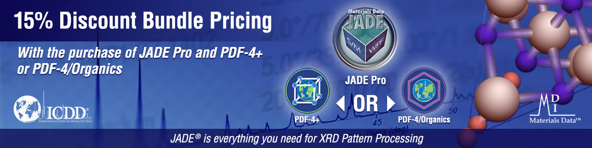JADE Bundle with PDF-4+ or PDF/Organics