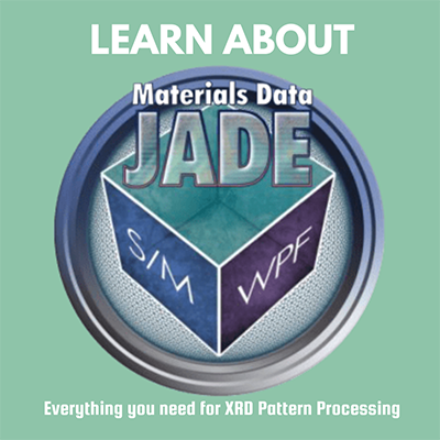 Learn About Materials Data and JADE