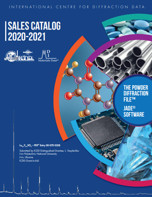 ICDD Sales Catalog 2020-2021