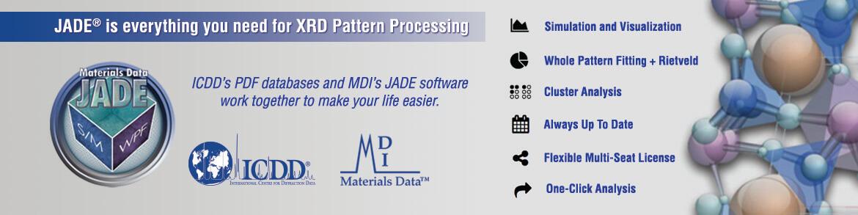 MDI - JADE - XRD Pattern Processing