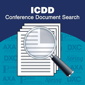 Search ICDD Conference Documents