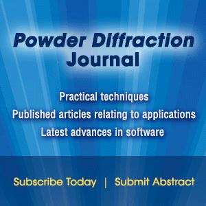 Powder Diffraction Journal - practical techniques
