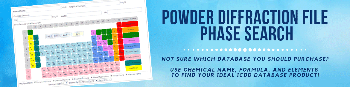 Which Powder Diffraction Database Should You Buy?