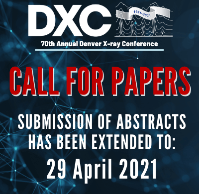Denver X-ray Conference Call for Papers