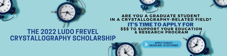Ludo Frevel Scholarship Deadline 14 October