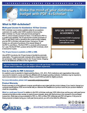 PDF-4+ Scholar - Make the Most of your Database Budget