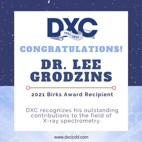 Birks Award - Lee Grodzins