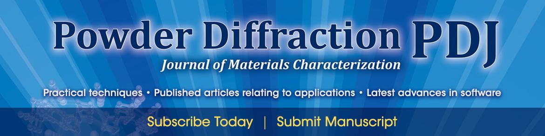 Powder Diffraction Journal