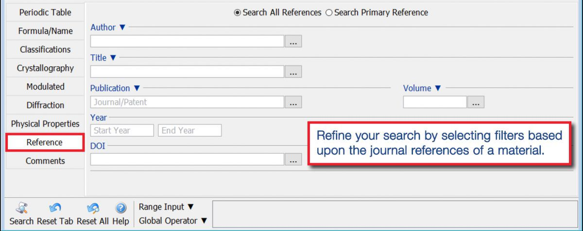 PDF-4+ 2020 Search Window Tab - Reference