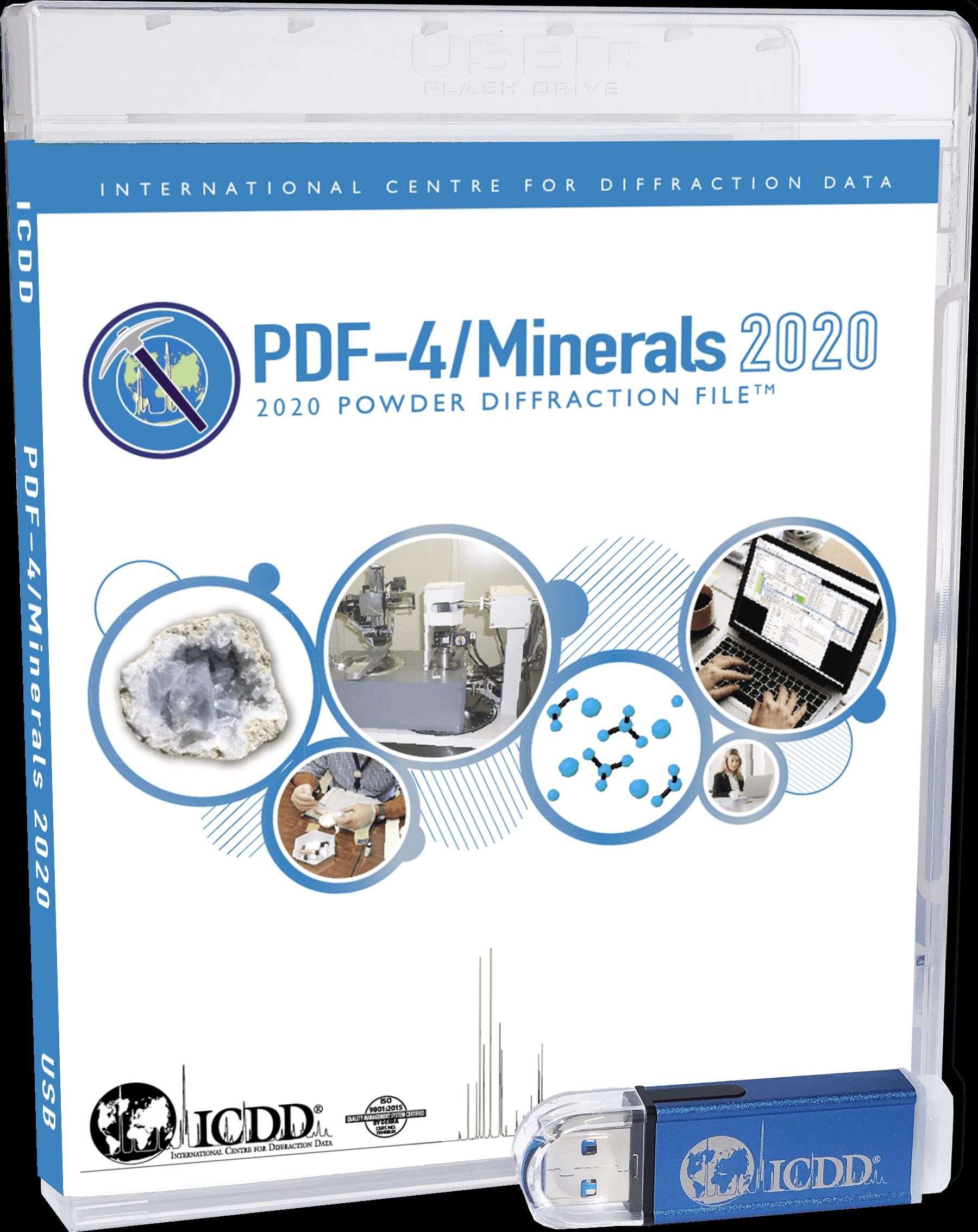 PDF-4/Minerals USB Product